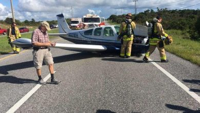 Photo of SMALL PLANE MAKES BELLY LANDING IN HOBE SOUND