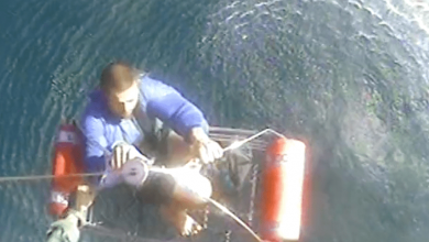 Photo of Coast Guard rescues man off Treasure Coast – Video