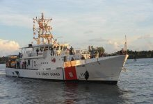 Photo of US Coast Guard looking for missing man near St. Lucie Inlet