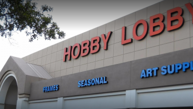 Photo of Jensen Beach's Hobby Lobby shuts down