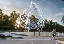 Photo of Artwork approved for Becker Road Roundabout